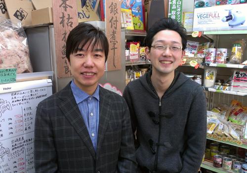 福島一さんと店長